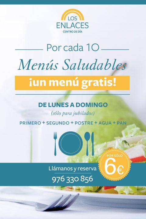 menu gratis zaragoza jubilados