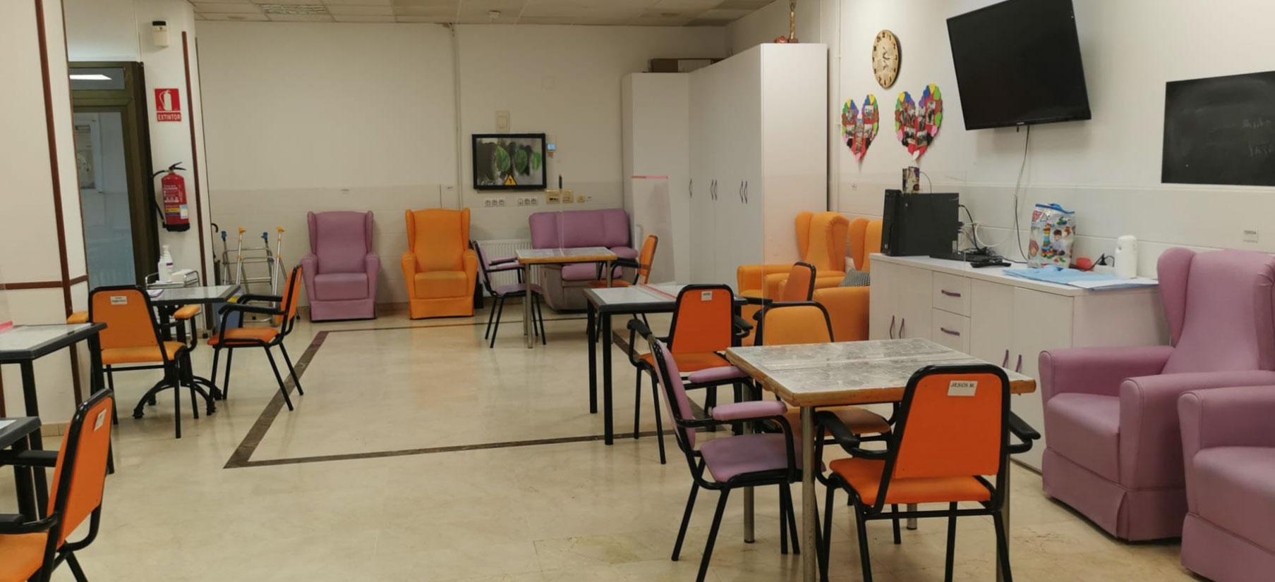centro de día Zaragoza Delicias