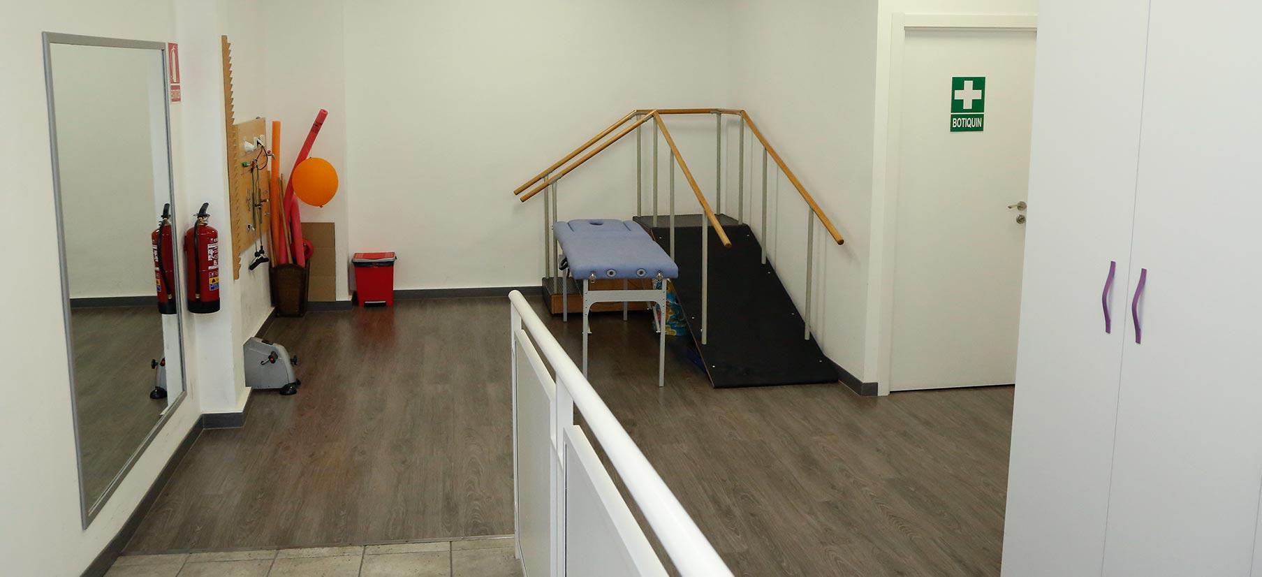 centro de día Los Enlaces fisioterapia